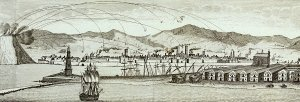 BNE_Barcelona_Montjuic_Bombardeo_1842_detalle