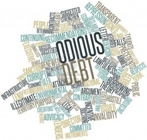 16446043-abstract-word-cloud-for-odious-debt-with-related-tags-and-terms