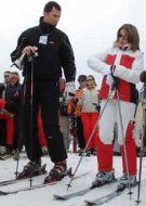 principe esquiando